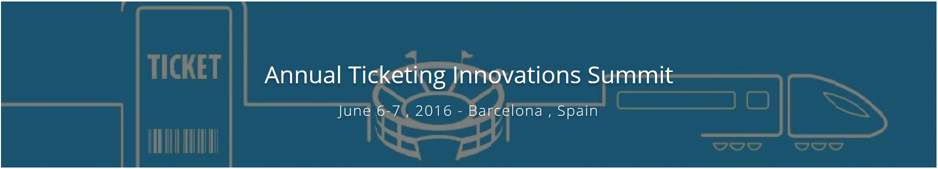 MASAI presented at the Annual Ticketing Innovations Summit (Barcelona, 6 to 7 June 2016)